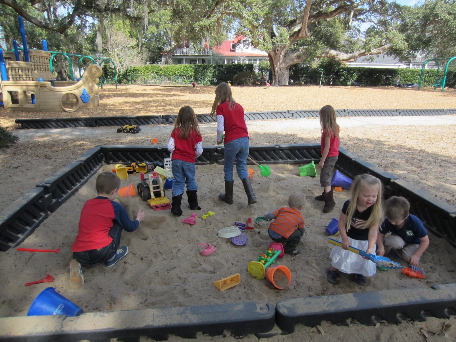 What Is Going On In Your Sandbox?